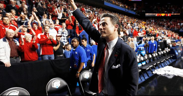 Louisville Basketball Coach Rick Pitino Almost Fights Fan After UNC Loss