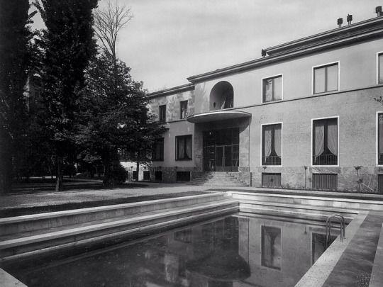 Top 25 ideas about piero portaluppi on pinterest for Villa mozart milano