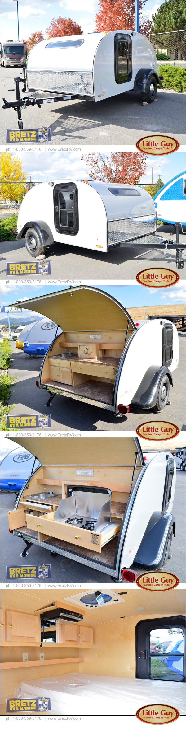 Where could you go in this super lightweight camping trailer?