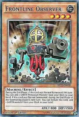 Original Konami YuGiOh Trading Card aus Secrets of Eternity.  SECE-EN039  Frontline Observer (Frontbeobachter) Seltenheit: Rare - 1st Edition  GBA-Code: 12451640 | Jetzt günstig bei eBay kaufen!