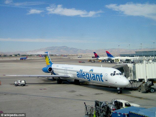 A pilot's union alleges that Allegiant Air fired a pilot  accusing him of trying to make the airline look bad after he made an emergency landing in June
