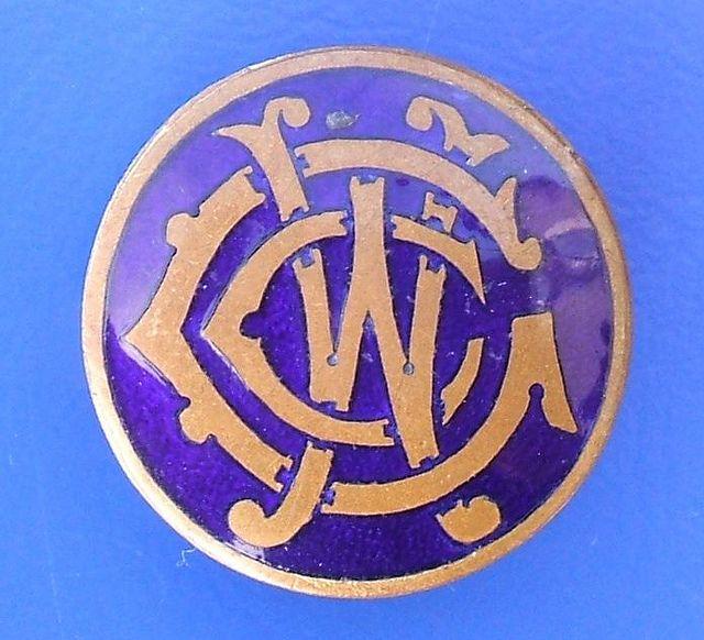 Women's Co-Operative Guild (WCG) enamel badge (1920's / 1930's)