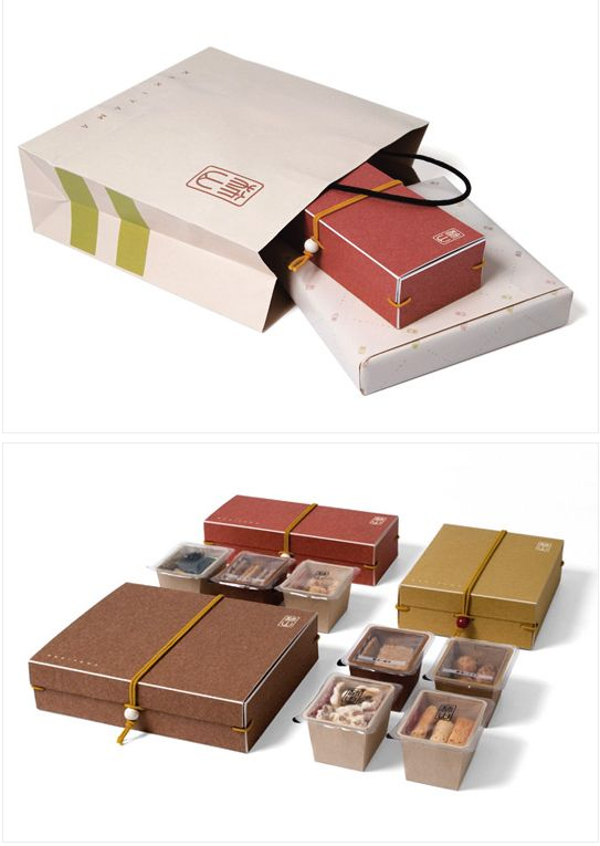 """KAKIYAMA is a long-established rice cracker brand in Tokyo, their brand-new packages including the assorted gift box, tin box, gift wrapping & shopping bags. The designer's goal was to create a Modern Japanese yet traditional and luxury rice cracker brand that appeals to all ages consumers."""""""