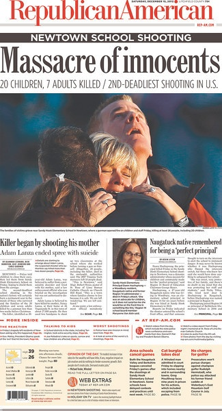 december 14 2012 school shooting | Connecticut shooting: newspaper front pages from around the world