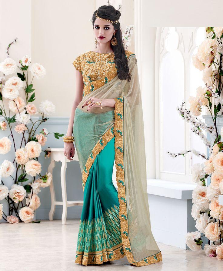 Get it at http://goo.gl/FLVaSf  #Indian #bridal #asia #saris #saree #2016 #dresses #shaadi #fashion #style #desi #designer #blouse #wedding #lushika #gorgeous #beautiful #pakistanifa #desi #bridal #dubai #london #newyork #desifashion #desicouture