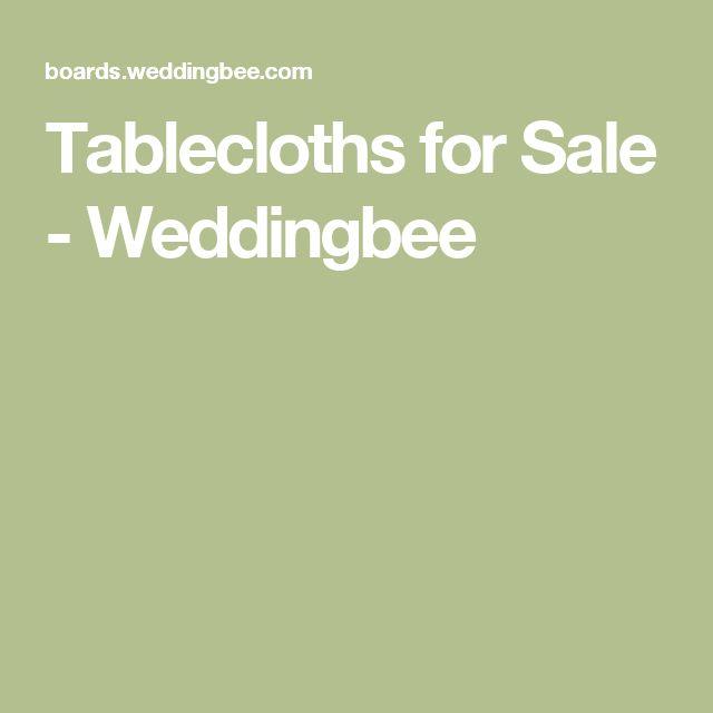 Tablecloths for Sale - Weddingbee
