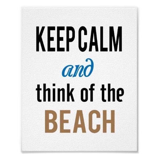 keep calm beach standard picture frame size poster
