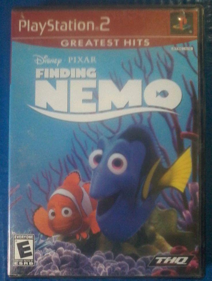 Lot of 3 PlayStation 2 PS2 Games Finding Nemo, Dragonball Z,  SOCOM Video Games