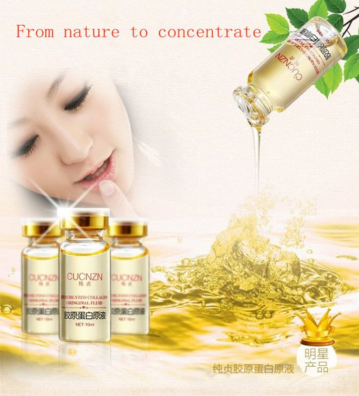 CUCNZN collagen  collagen protein concentrate 10ml   free shipping