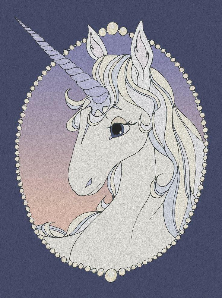 the last unicorn   The Last Unicorn by vanillapod1 on deviantART