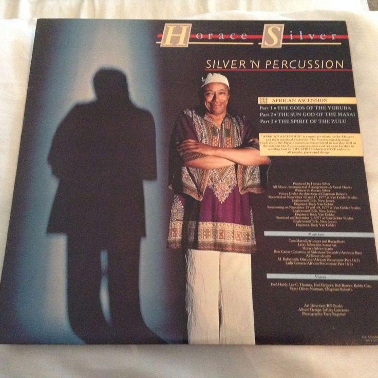 Horace Silver Silver 'n' Percussion LP Vinyl