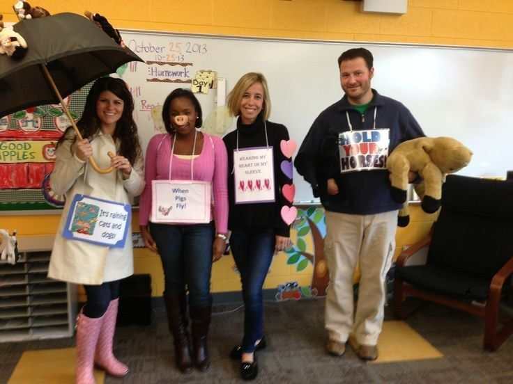 These are teachers who go all out! Here are 31 costumes that will impress your students and (some) that reinforce your teaching. Thanks to the many educators who shared their Halloween duds.