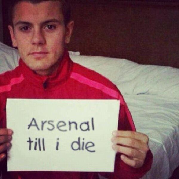 """""""Arsenal till i die"""", Super Jack"""