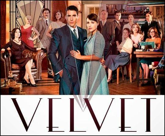 Velvet (2014-2015) La serie gira en torno a una galerías de moda en los años 50 y, especialmente, en la relación entre una de las costureras y el dueño de las galerías.