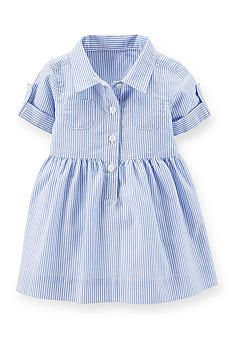 Carter's® Stripe Shirt Dress