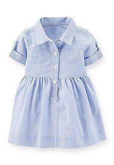 Carter's® Stripe Shirt Dress