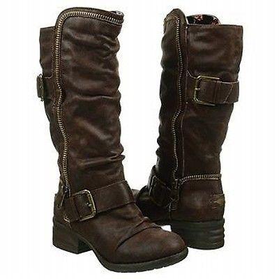 Rocket Dog Women's Dallon Boots Brown Rogue Women Shoes All Sizes NIB