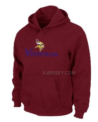 http://www.xjersey.com/minnesota-vikings-authentic-logo-pullover-hoodie-red.html MINNESOTA VIKINGS AUTHENTIC LOGO PULLOVER HOODIE RED Only $50.00 , Free Shipping!