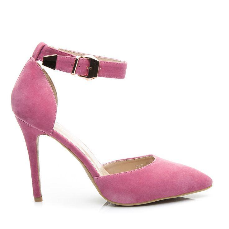 SZPILKI CANDY ROSE SUEDE - odcienie różu > CzasNaButy.pl > buty i torebki