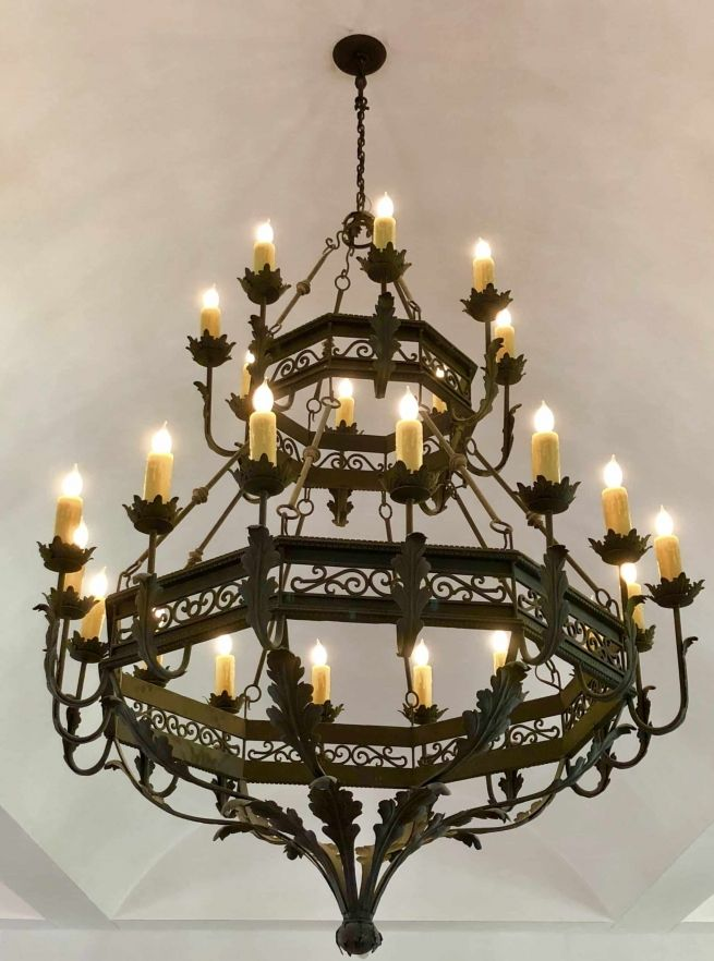 Arcangeles Br 1080 Iron Chandeliers Wrought Iron Lights Iron