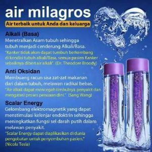 Milagros, miracle inside..more info www.milagros.co.id
