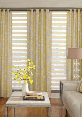 Light gray, yellow, and cream: Dining Rooms, Livingroom Colors, Drapery Ideas, Curtains Rods, Formal Living Rooms, Colors Schemes, Living Rooms Curtains, Guest Rooms, Cream Living Rooms