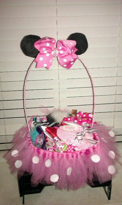E Creations Original Minnie Mouse Tutu Basket 20