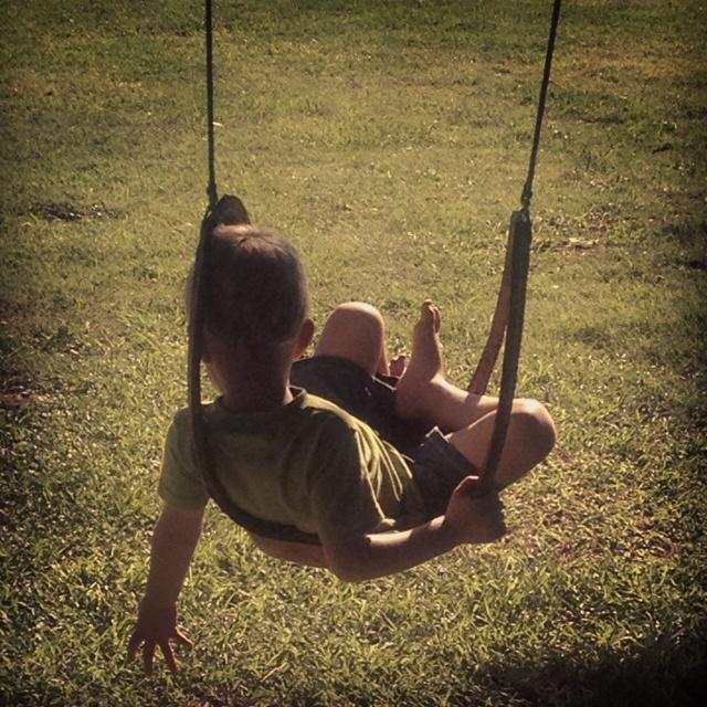 Swing on the farm