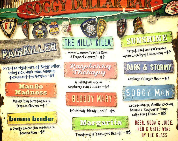 Soggy Dollar Bar | Sandcastle Hotel | St John Vaca 2017 ...