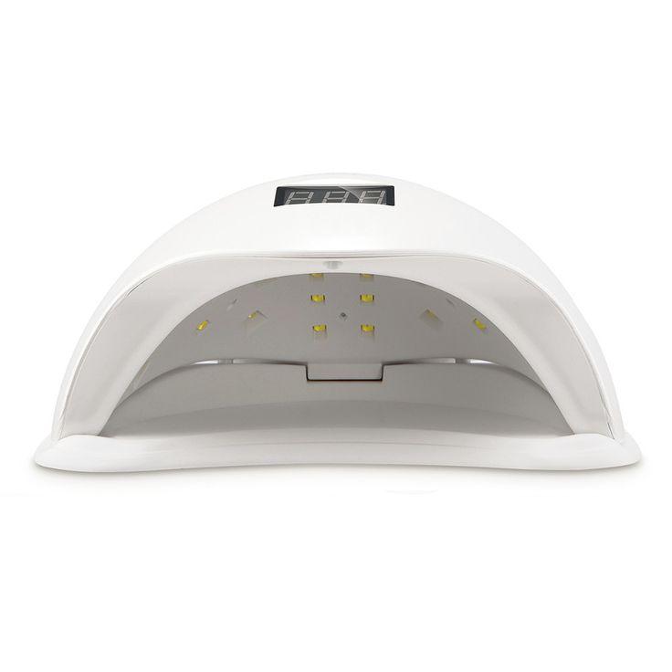 SUNUV SUN5 48 W Podwójna Lampa LED UV Do Paznokci Suszarka Do Paznokci Żel Polski Utwardzanie Światło z Dolnej 30 s/60 s Timer wyświetlacz LCD