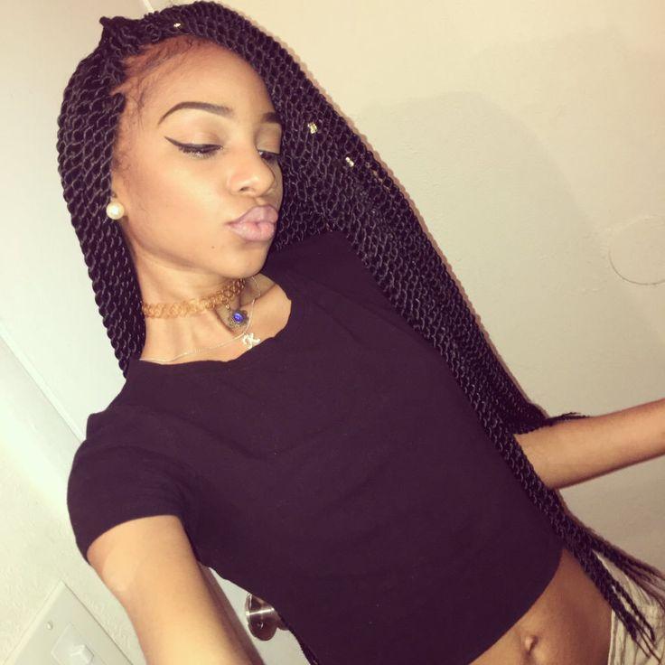 Strange 1000 Ideas About Senegalese Twist Styles On Pinterest Short Hairstyles For Black Women Fulllsitofus