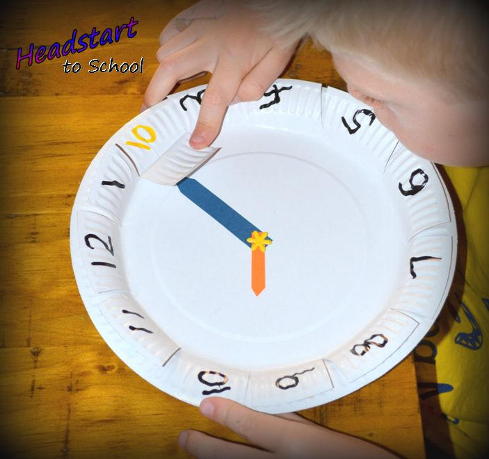 I was so excited to try this activity!!! We had so much fun making our paper plate clocks and then, with a little instruction, my Mr. 6yrs instantly understood how to read the time! It just makes sense! An instructional video is just one of the many educational experiences included in our VIP Membership beginning next month, enquire now to ensure you don't miss out :)