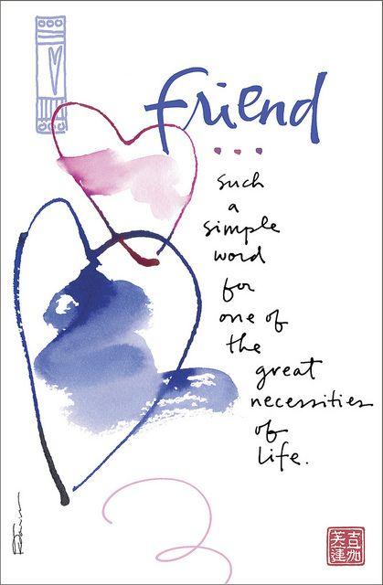 Kathy Davis Dose of Inspiration: Friend | Flickr - Photo Sharing!