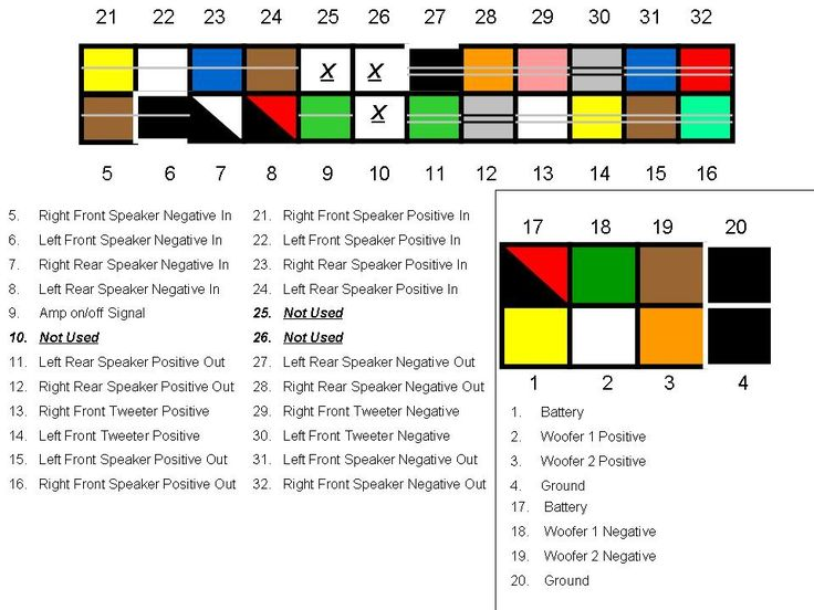 speaker wiring color codes google search nissan titan 4 ohm speaker wiring diagram