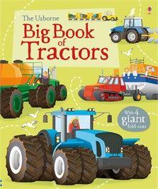 The Usborne Big Book of Tractors