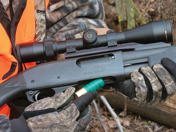 Deer Hunting Shotguns | hunting/fishing/equipment/recipes | Pinterest