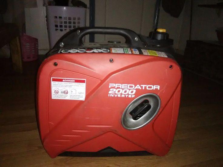 2000 Watt Generator Inverter Super Quiet Small Light Weight Efficient Predator