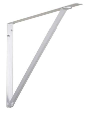 JOHN STERLING RP-0048-19WT White Large Heavy Duty Shelf Bracket by John  Sterling