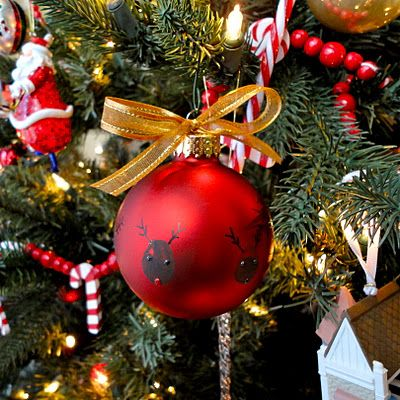 cute christmas ornament for kids to make