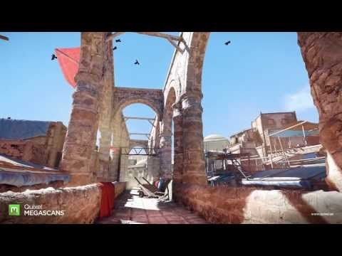 Quixel Megascans Environment - YouTube