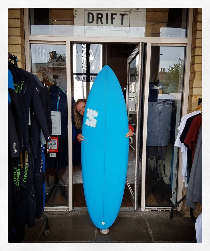 "5'9"" Plonky (the board not Maxi ) in @driftsaltburn #visionary #surfboard #plonky #resinart #shortboard http://ift.tt/1v0LElc http://ift.tt/19MEsb6"