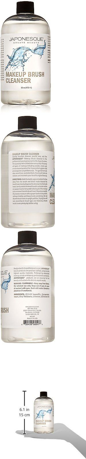 Brush Cleaners: Japonesque Makeup Brush Cleanser, 16 Oz. BUY IT NOW ONLY: $36.68