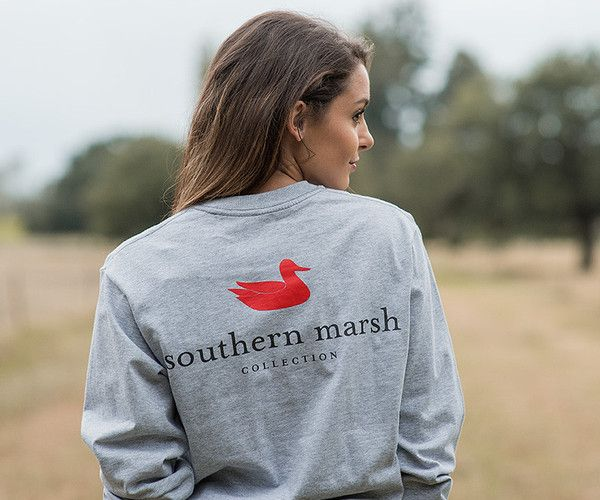 Southern Marsh Collection — Southern Marsh Authentic - Long Sleeve [gray]