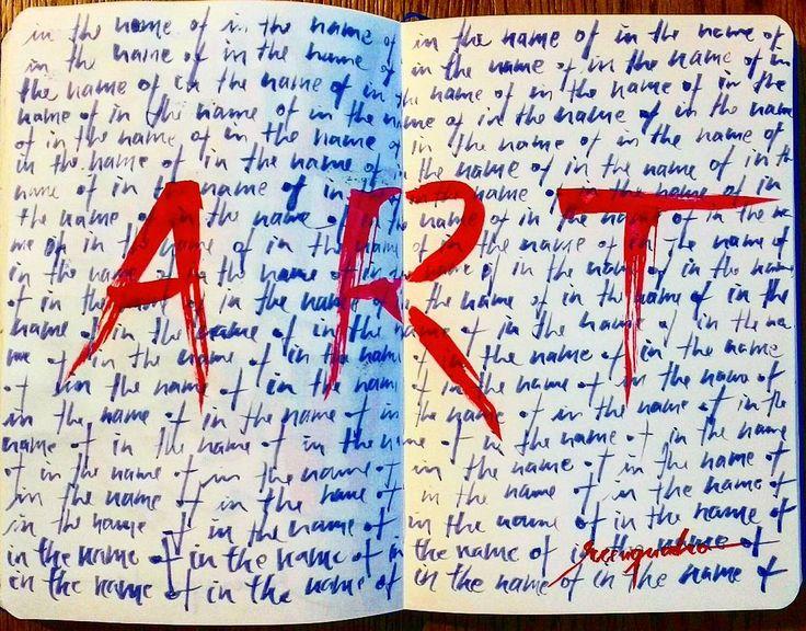 In the name of ART.  What's your art: Love? God? Money? Time? Sex? Technology? Music? Painting? Photography? Calligraphy? Think about it and do it. // Em nome da ARTE.  Qual é a sua arte: Amor? Deus? Dinheiro? Tempo? Sexo? Tecnologia? Música? Pintura? Fotografia? Caligrafia? Pense nisso e faça!