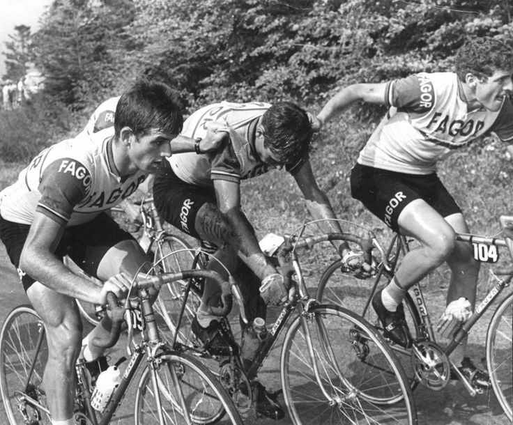 'In '69 Ocaña needed the help of his team to finish.'  http://www.pezcyclingnews.com/features/tour-lookback-luis-ocana/#.VkYXQdIvfvY
