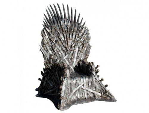 My new office chair, courtesy of HBO.