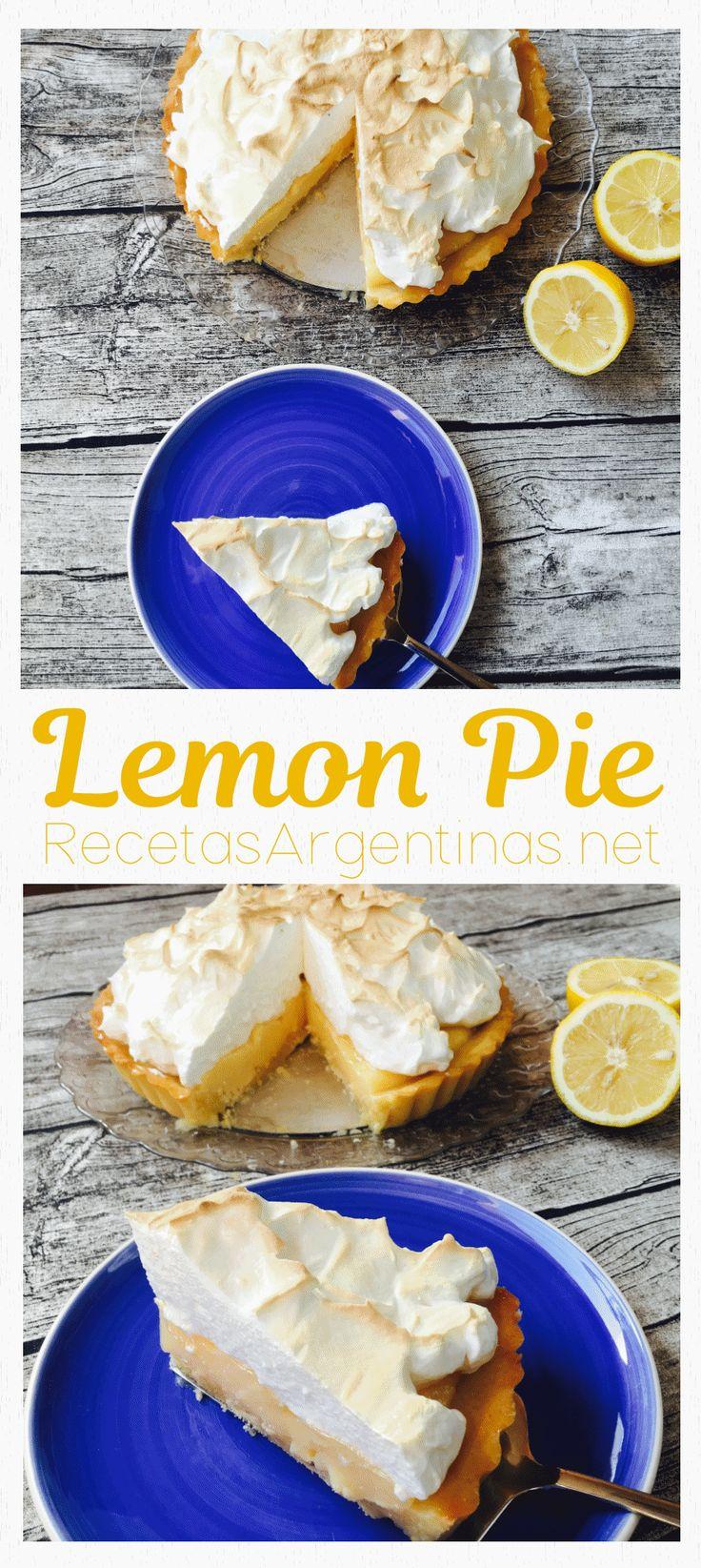 Receta de la famosa tarta con crema de limón y merengue