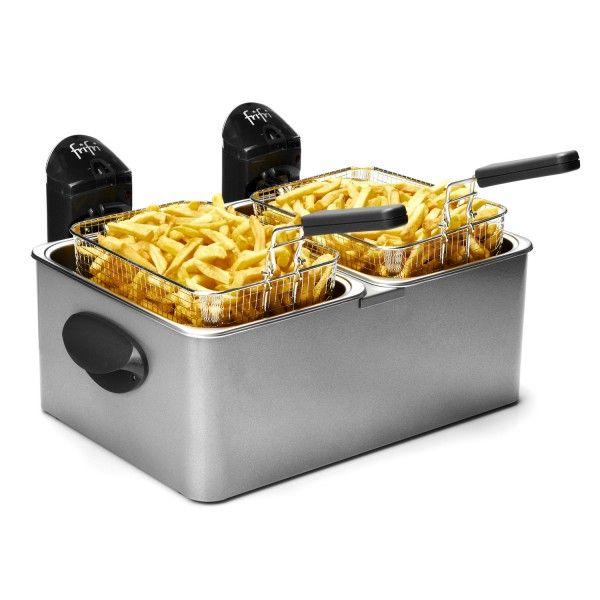 Friteuse Frifri 1998 Croquettes ou frites? Plus de souci grâce à ses 2 panier la friteuse Frifri 1998 vous permets de combler toutes les envies...