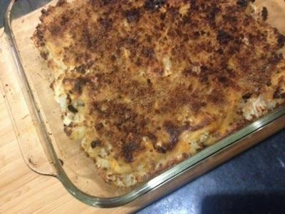 ... Home Cooking Blog of a Busy Working Mom: Roasted Cauliflower Gratin