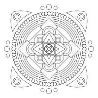 Free printable mandalas: Colors Mood, Kvv Mandala, Doodles Mandala, Mandala Colors, Education Colors, Colors Mandala, Printable Mandala, Mandala Online, Mandala Ideas
